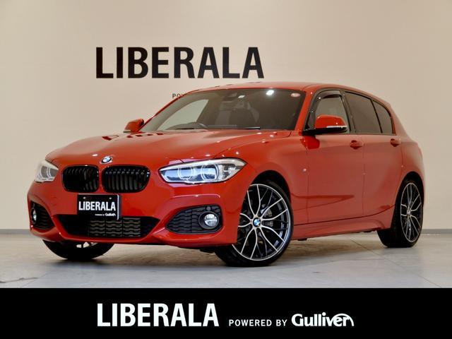 BMW 118d Mスポーツ インテリジェントセーフティー Mパフォーマンス19インチAW Mパフォーマンスブラックグリル&カーボンインテリアセット&マフラーカッター パークディスタンスコントロール LEDヘッドライト