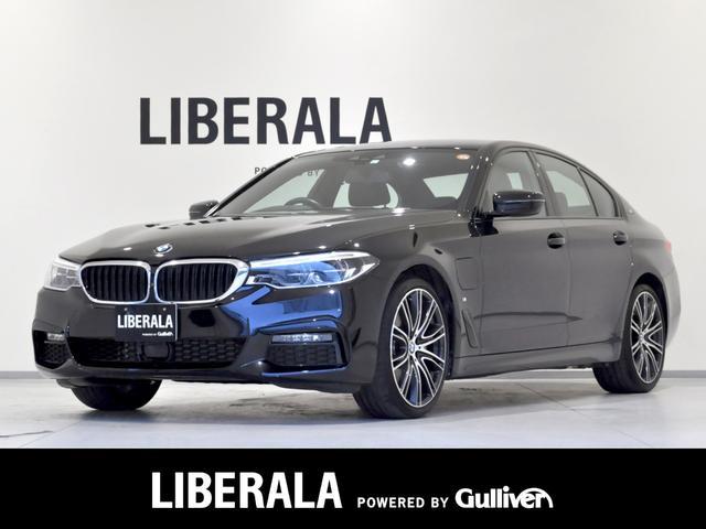 BMW 5シリーズ 530e Mスポーツ ハイラインPKG iDriveナビ DTV/HDD/CD/DVD/BT/ScreenMirroring/USB 全周囲/3Dビューカメラ LEDライト 純20AW 黒ダコタレザー インテリS ETC