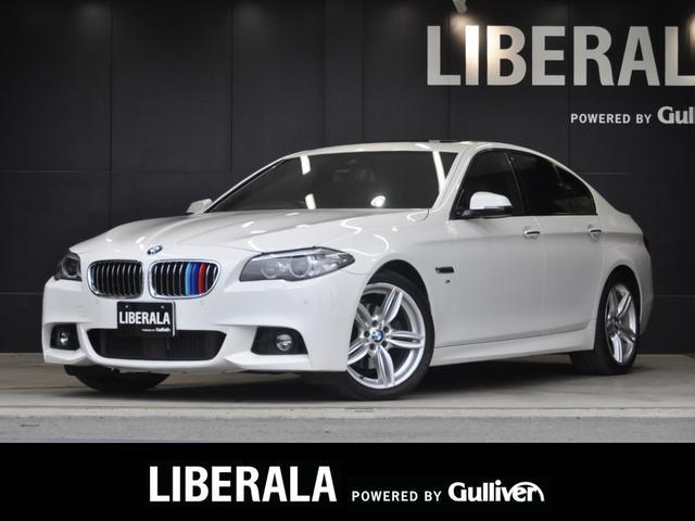 BMW 5シリーズ 523i Mスポーツ サンルーフ ブラウンダコタ PWシート シートヒーター インテリジェントセーフティー ACC/LKA/PDC HDDナビ TV/CD/DVD/BT/MSV HIDヘッドライト 純正19AW Bカメラ