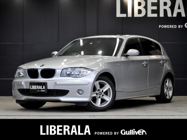 BMW 1シリーズ 120i 当店買取車 サンルーフ ナビ TV ETC O/Pカラー プッシュスタート 純正オーディオ オートエアコンオートライト フロアマット キーレス