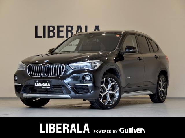 BMW X1 xDrive 18d xライン ワンオーナー 当店買取 インテリジェントセーフティ iDriveナビゲーション バックカメラ フルセグTV/BT 純正18インチAW LEDヘッドライト クルーズコントロール パワーバックドア ETC