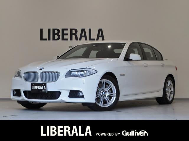 BMW 5シリーズ アクティブハイブリッド5 Mスポーツパッケージ 1オーナー iDriveナビ BT/フルセグTV Bカメラ パークディスタンスコントロール 黒革シート パワー/メモリー/ヒーター 4ゾーンエアコン 電動Pブレーキ オートホールド HIDヘッドライト