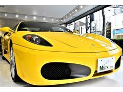 フェラーリ F430F1 黒革オールレザー カーボンパネル 黄色キャリパー