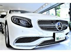 メルセデスAMGS65 カブリオレ 正規D車 ワンオーナ AMGスタイリング