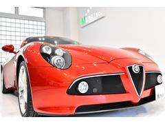 アルファロメオ 8Cコンペティツィオーネ世界限定車 日本割当67台 1オーナ ボルドー革 HDDナビ