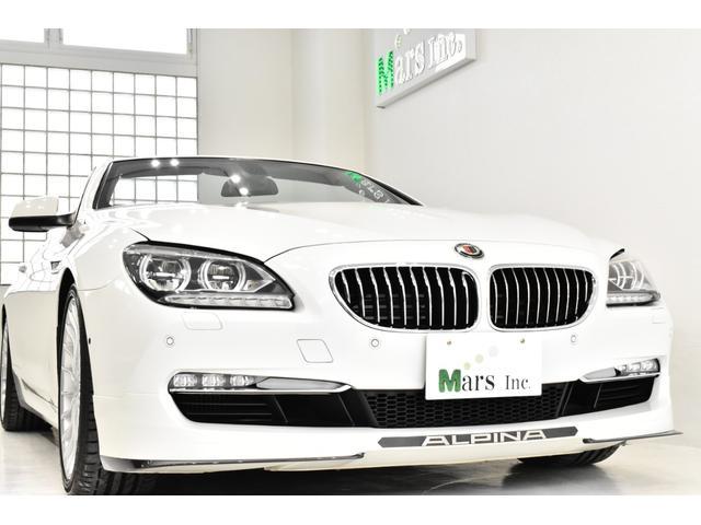 BMWアルピナ ビターボ カブリオ ネイビー幌赤革 LEDライト ニコル正規