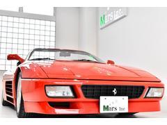 フェラーリ 348スパイダー5速MT 黒革黒幌 キダスぺマフラー 純正17AW