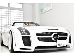 M・ベンツ SLS AMGFAB DESIGNフルコンプリートロードスター 1オーナー