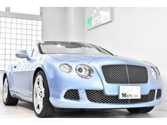 ベントレー コンチネンタルGTコンバーチブル W12 正規D車 ツートンレザー 紺幌