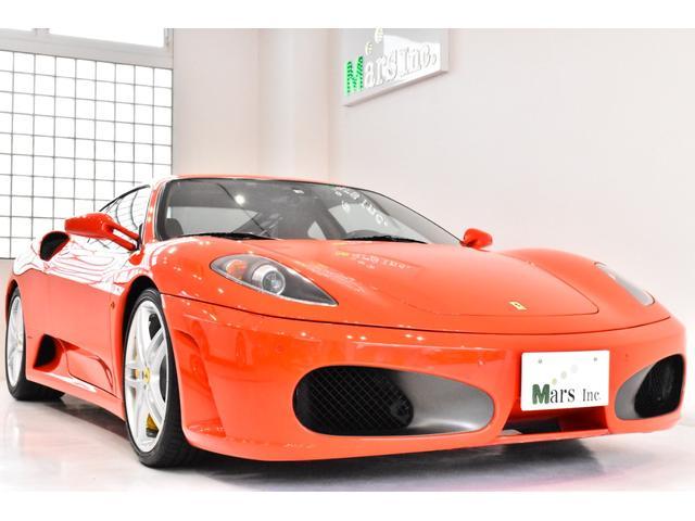 フェラーリ F430 後期型 正規D車 カーボンブレーキ オール革&カーボン内装