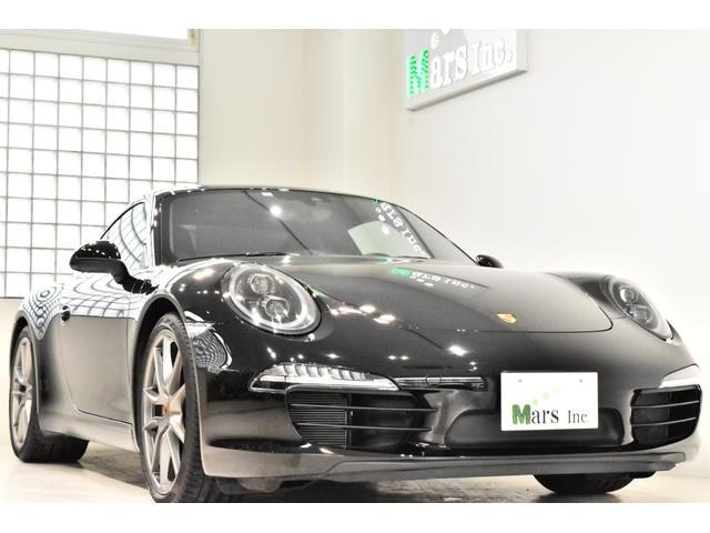 ポルシェ 911 911カレラS 2016年モデル 正規ディーラー車 自然吸気最終型 OP120万 LEDヘッドライト ボルドーシートベルト 電動ミラー 黒革インテリア カラークレストホイールキャップ 純正ナビTV Bカメラ スペア鍵