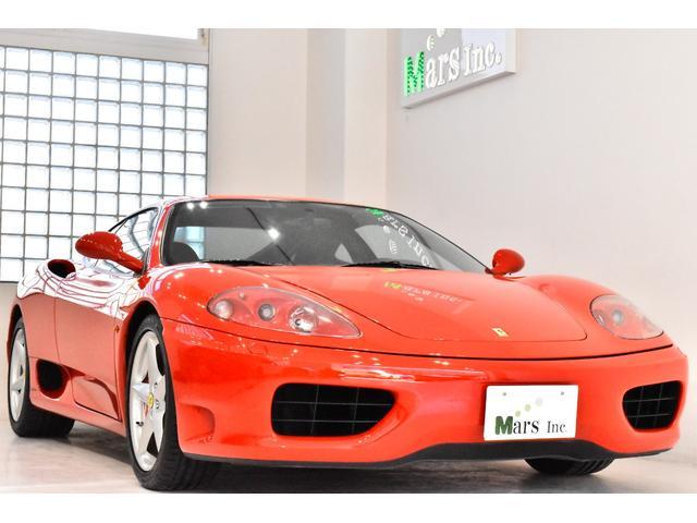 フェラーリ モデナF1 フルオリジナル 実走行4000キロ R1年クラッチ一式交換済 ヘッドレストエンボス 赤キャリパ 社外HDDナビ バックカメラ 取説 フェラーリバック ETC スペア鍵 左ハンドル