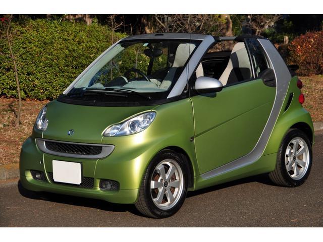 「スマート」「フォーツーカブリオ」「オープンカー」「東京都」の中古車