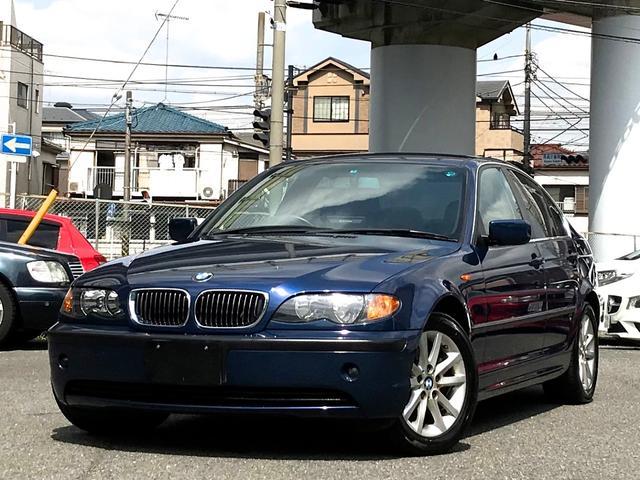 BMW 320i ハイラインパッケージ 社外ナビ 皮シート