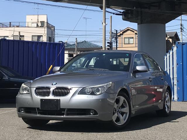 BMW 525iハイラインパッケージ  黒革シート