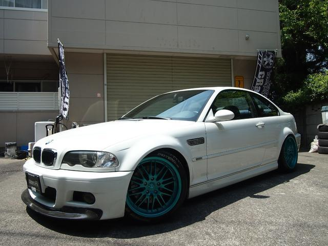 BMW M3クーペ オリジナル車高調 ステンマフラー
