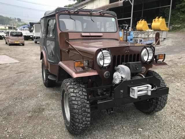 三菱 キャンバストップ ウインチ付き 4WD