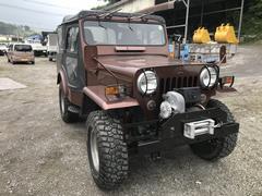 ジープキャンバストップ ウインチ付き 4WD