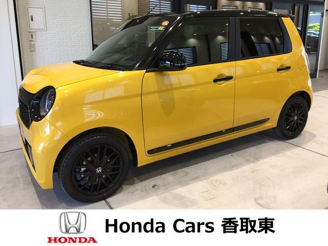 ホンダ RS 自社試乗車 6MT ターボ 純正7インチナビ フロアマット付