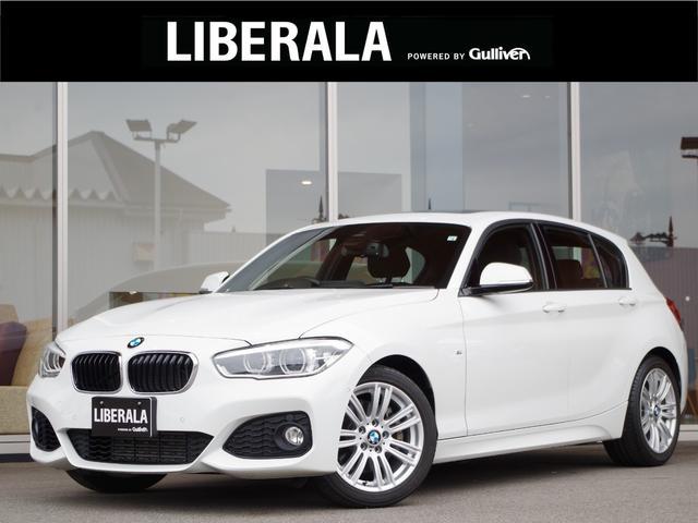 BMW 118i Mスポーツ サンルーフ  純正HDDナビ  CD DVD MS BT AUX クルーズコントロール バックカメラ レーンディパーチャウォーニング コーナーセンサー ミラー一体ETC LED 純正マット 電格ミラー