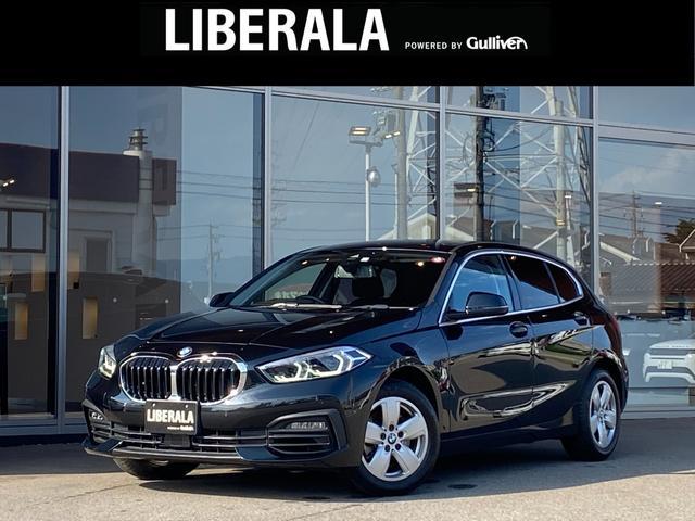 BMW 1シリーズ 118i プレイ 検R4.12 コンフォートアクセス アンビエント6色 ACC LED フォグ パワーバックドア(スマート) 純正ナビ(タッチ式) AppleCarPlay パワーシート オートホールド 保・取 スペア