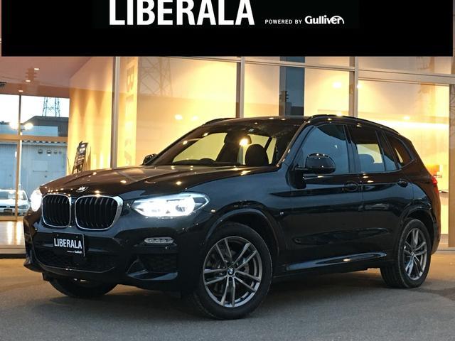 BMW X3 xDrive 20d Mスポーツ ブラックサファイア ヘッドアップディスプレイ ACC インテリセーフティ アダプティブLED フォグ パワーバックドア(スマート) シートヒーター 純正ナビ(タッチ式) ScreenMirroring