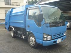 エルフトラック2トンプレスパッカー車 新明和4.6m3 スムーサー(AT)