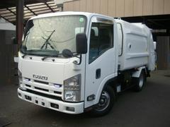 エルフトラック2トンプレスパッカー フジマイティ