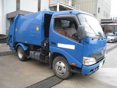 ダイナトラック2トンプレスパッカー車 極東4.3m3