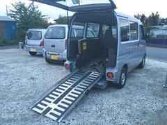 ミニキャブバン福祉車両 車いす移動車 スローパータイプ 両側スライドドア