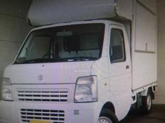 キャリイトラック移動販売車 キッチンカー 4WD 外部電源 換気扇 照明