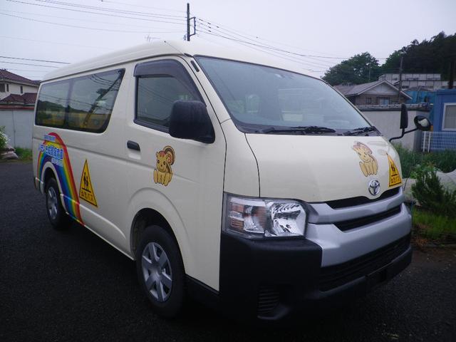 トヨタ 園児バス 2/12人 4WD
