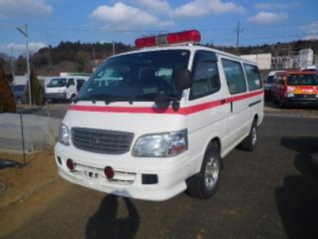 トヨタ ハイエースワゴン  救急車 4WD