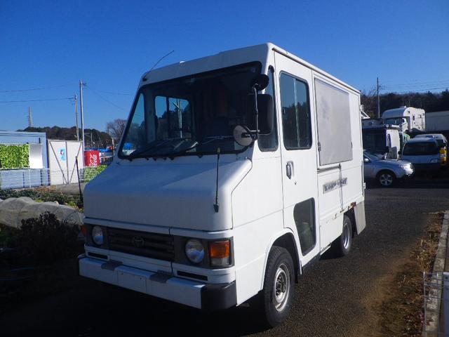 トヨタ  4WD 移動販売車 キッチンカー 左大型開口部