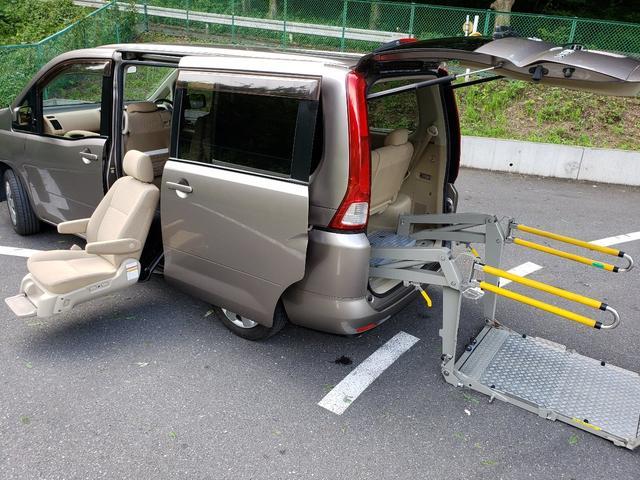 日産 アンシャンテ車椅子リフト+セカンドスライドアップシート 福祉