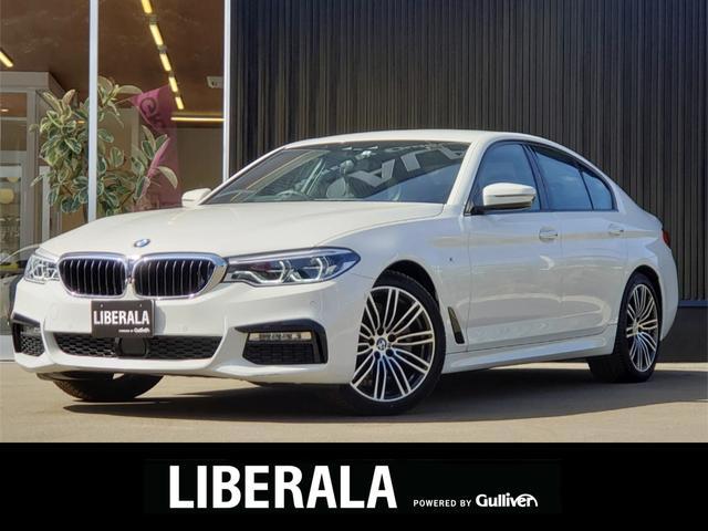 BMW 523i Mスポーツ 360度カメラ インテリジェントセーフティ アダプティブLEDヘッドライト BSM LEDフォグ コンフォートアクセス HUD純正HDDメーカーナビ ETC レーンアシスト 保証書 取扱説明書