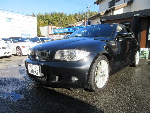 BMW 1シリーズ 116i Mスポーツパッケージ 社外ナビバックカメラ
