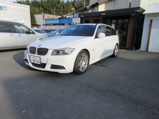 BMW 320iツーリング MスポーツカーボンED 地デジフルセグバックカメラは