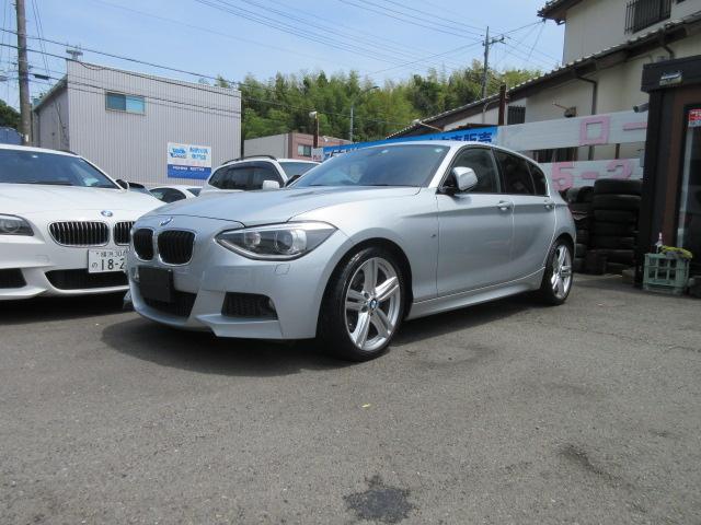BMW 1シリーズ 116i Mスポーツ M18インチAW ウッドパネル