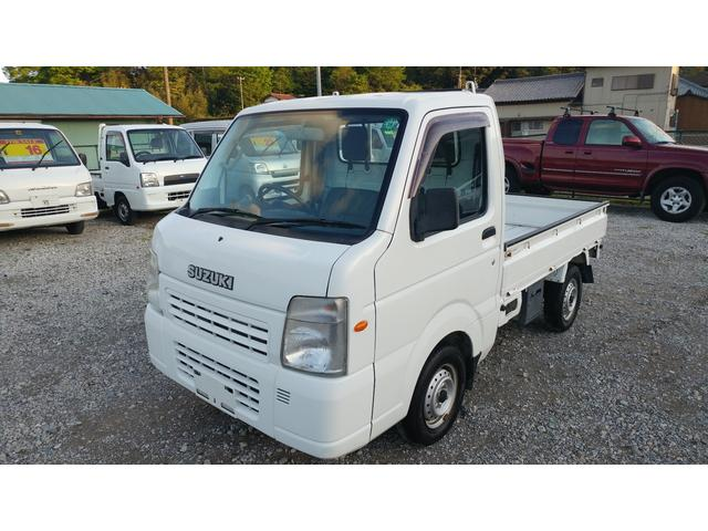 スズキ FC エアコン パワステ 4WD 5MT ワンオーナー