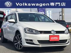 VW ゴルフヴァリアントTSIハイラインブルーモーションテクノロジー ディスカバーP