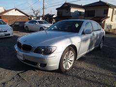 BMW750Li サンルーフ パワトラ 黒革エアシート フルセグ