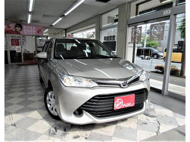 トヨタ カローラアクシオ 1.5X 5速マニュアル車 走行2.289Km 純正ナビ・TV