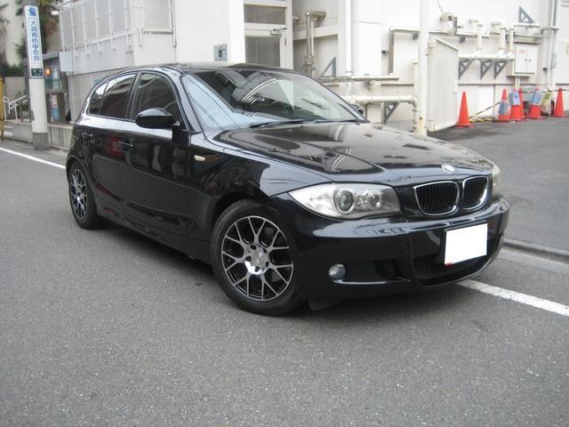 BMW 120i Mスポーツ ETC ハーフレザー 社外アルミ