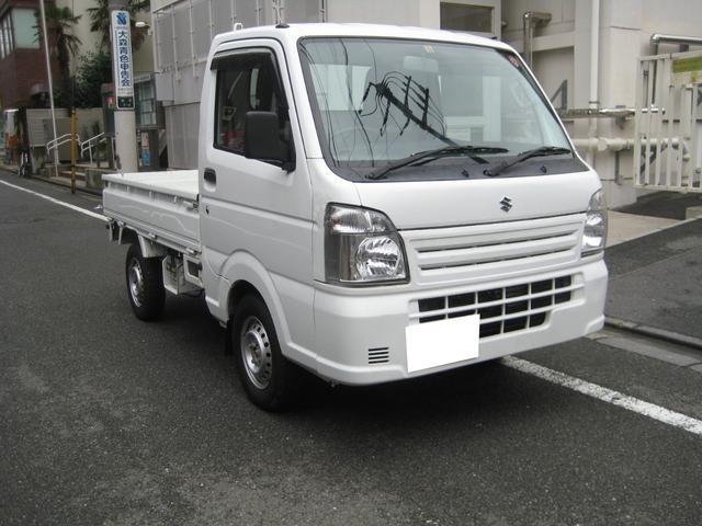 スズキ KCエアコン・パワステ ドアバイザー 4WD