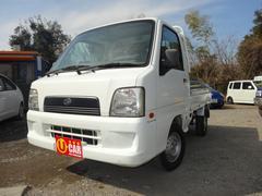 サンバートラックTB 三方開 MT車 エアコン 3年保証対象車