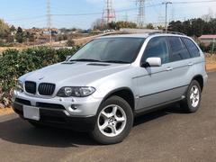 BMW X53.0i 本革レザー 社外2DINHDDナビ シートヒーター