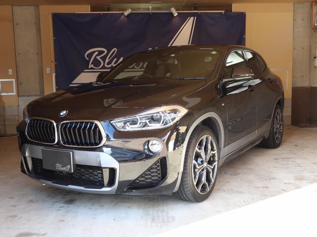 BMW X2 xDrive 20i MスポーツX LEDヘッドライト バックカメラ コーナーセンサー シートヒーター ヘッドアップディスプレイ 純正ナビ オートライト 電動リアゲート コンフォートアクセス アダプティブクルーズコントロール