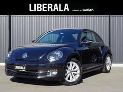 VW ザ・ビートルデザインレザーパッケージ 黒革シート ETC シートヒーター