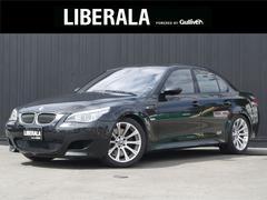 BMWM5 サンルーフ 黒革シート パドルシフト